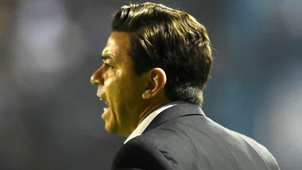 """""""Ganamos el partido que teníamos que ganar"""", dijo Gallardo"""