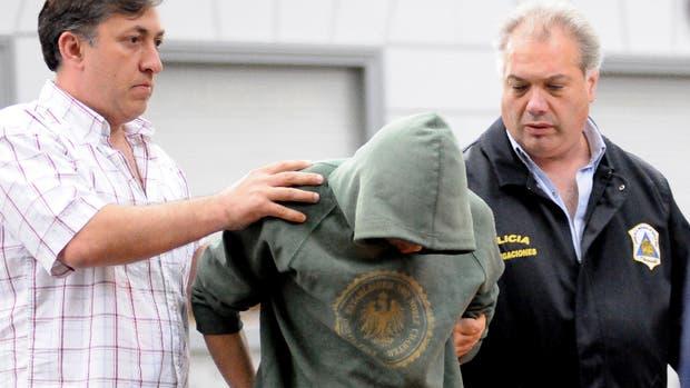 Alcaraz, el único detenido, fue llevado a los Tribunales y no declaró