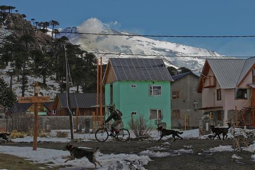 Neuquén levanta la alerta roja por el volcán Copahue. Foto: LA NACION / Alfredo Sánchez