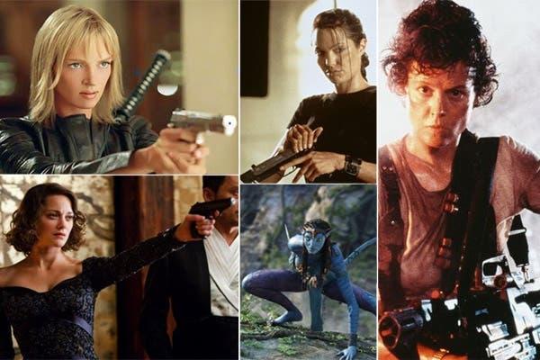5 chicas de temer: Beatrix, Mal, Lara, Neytiri y Ripley