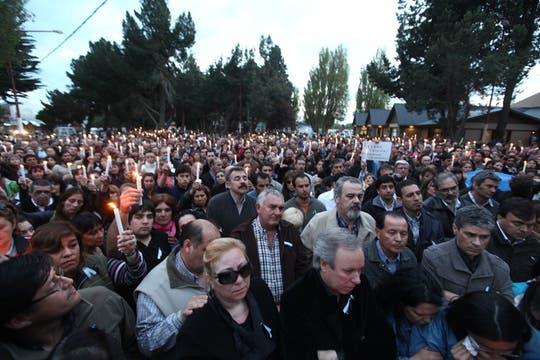 Emotiva misa en El Calafate. Foto: LA NACION / Maxie Amena / Enviado especial