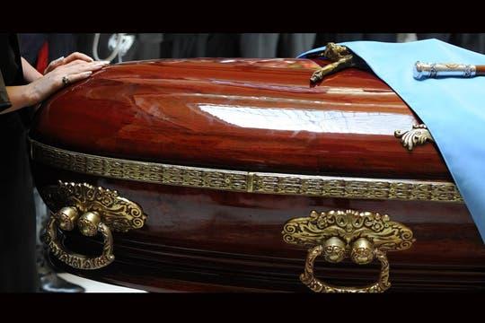 Las manos de Cristina. Foto: Presidencia de La Nación