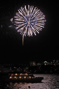 Show de fuegos artificiales en Sidney, una de las primeras ciudades en recibir el 2013. Foto: AP