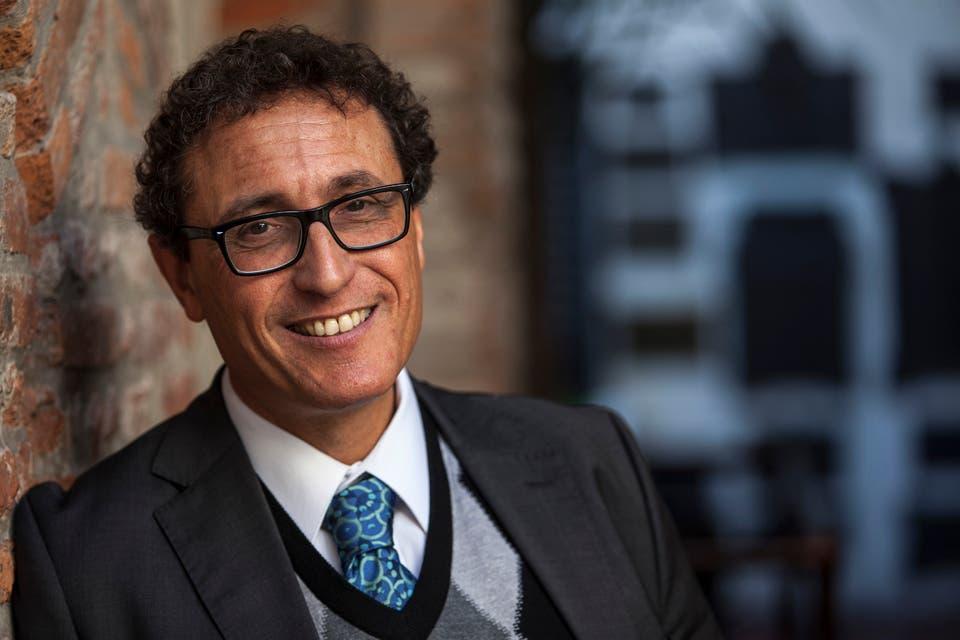 Adolfo Roitman, antropólogo y experto en religiones comparadas, durante su reciente visita a Buenos Aires. Foto:LA NACION/Fernando Massobrio