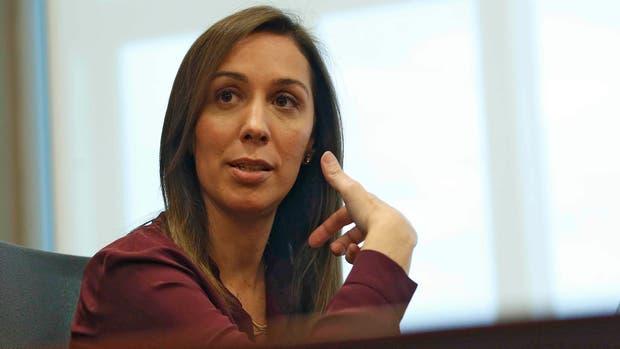 La gobernadora bonaerense María Eugenia Vidal