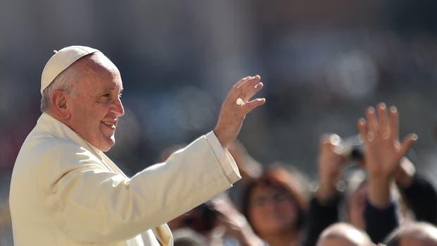 El Papa, en la Plaza San Pedro