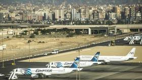 El avión de EgyptAir cubría la ruta El Cairo-Alejandría y fue obligado a aterrizar en Chipre
