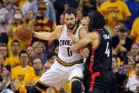 Cleveland le ganó a Toronto y quedó a un paso de la final de la NBA