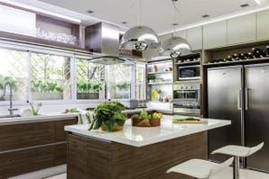 Dos propuestas para una cocina moderna y funcional