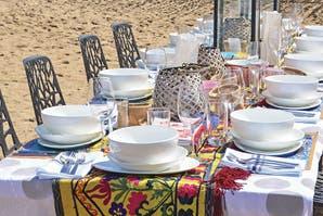 Ideas para ambientar un almuerzo de verano