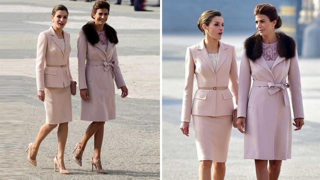 La reina Letizia y Juliana Awada, en la última visita de los argentinos por Europa