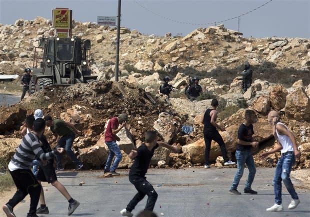 En un asentamiento cerca de Ramallah hubo enfrentamientos