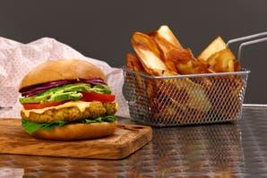 La mejor receta de hamburguesa vegetariana