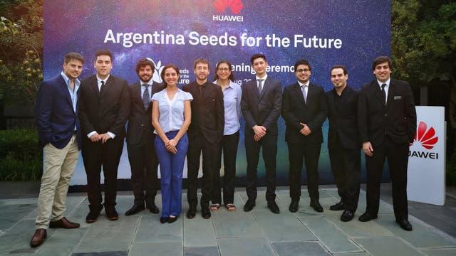 Los universitarios argentinos en China