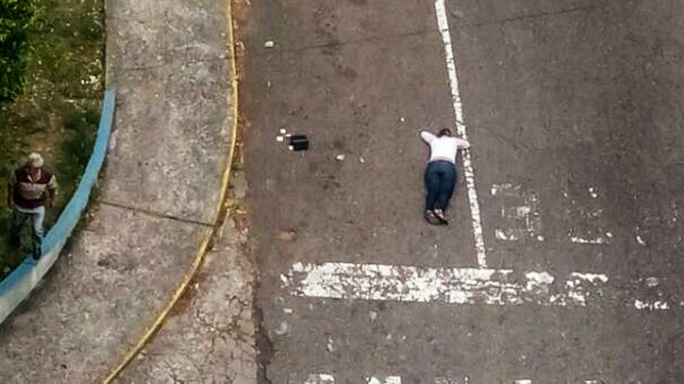 Una de las manifestantes que murió en los enfrentamientos con la policía. Foto: Twitter