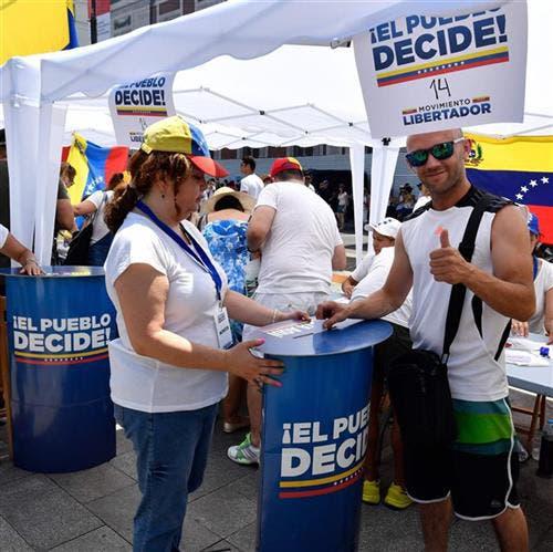 Madrid: los venezolanos se movilizaron en varias ciudades del mundo, entre ellas Madrid