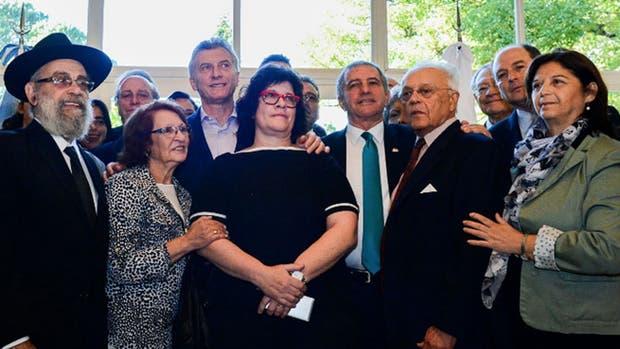 Macri recibió a familiares y sobrevivientes