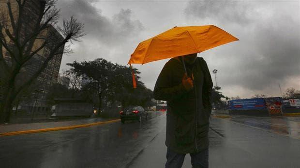 Se espera una jornada con lluvias y chaparrones aislados y una máxima de 17 grados