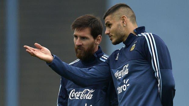 Mauro Icardi, en la selección argentina