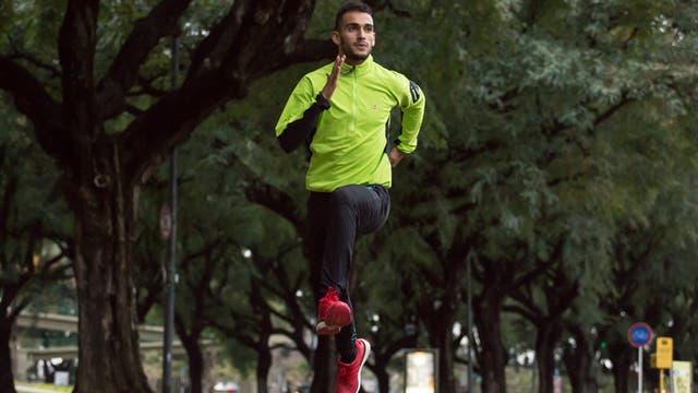 Leandro Paris, campeón sudamericno de 800 mts