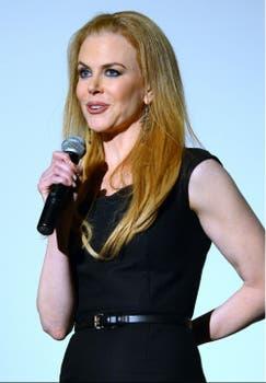 Nicole Kidman participó en un evento en Los Angeles, California. Foto: AFP