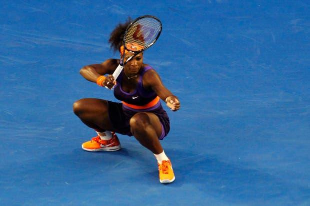 Con ustedes, Serena Wang Chan Kein Williams.  Foto:Reuters