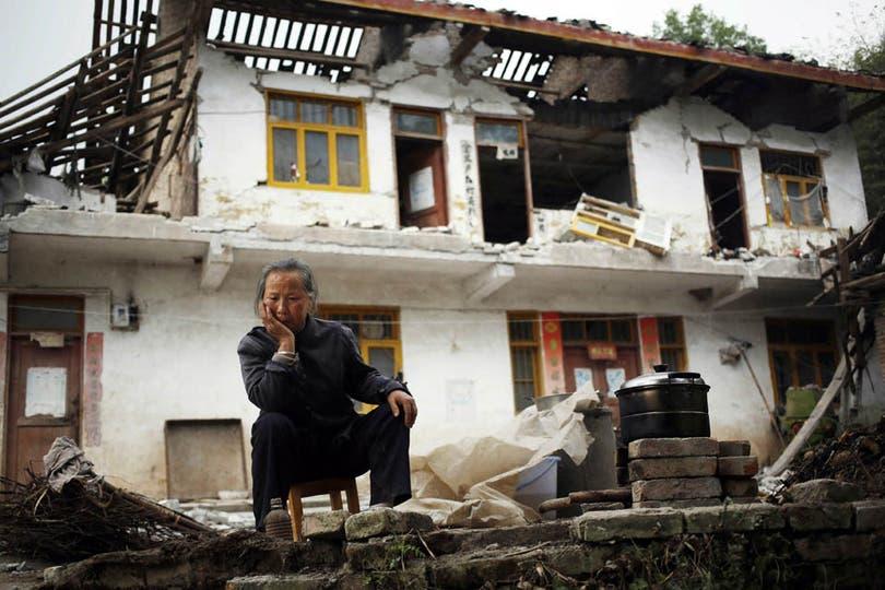 La mayor parte de las muertes se produjeron en Lushan. Foto: EFE