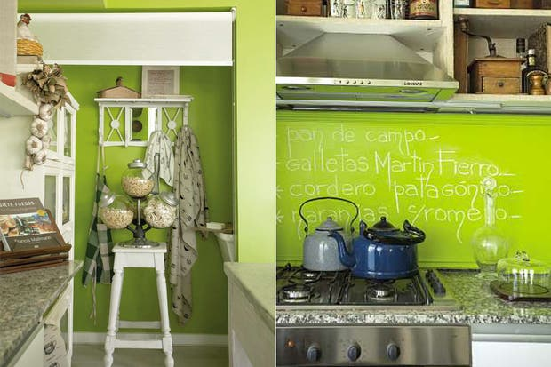 ideas para decorar tu cocina con color