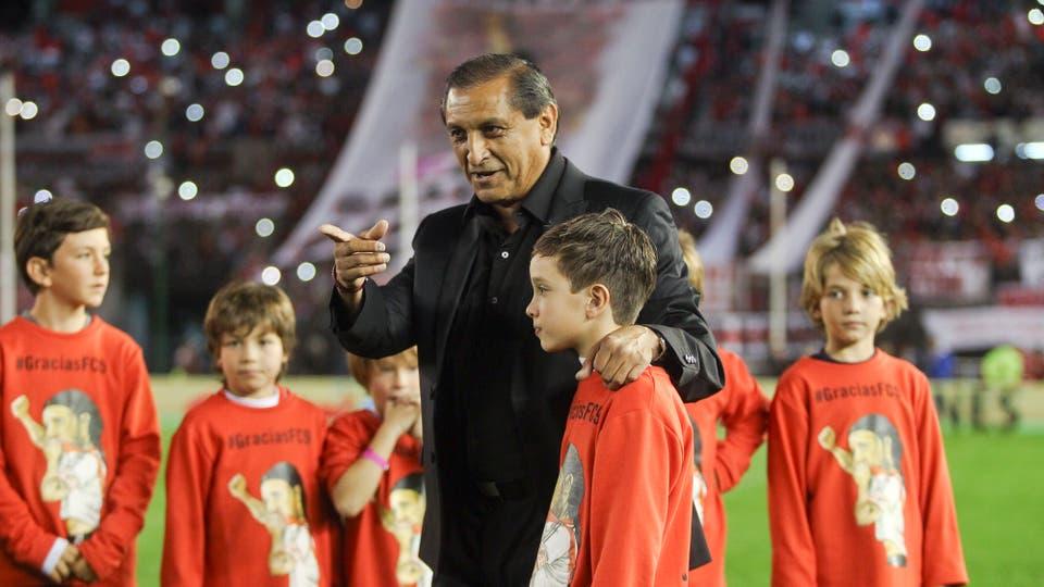 La despedida de Fernando Cavenaghi. Foto: LA NACION / Mauro Alfieri