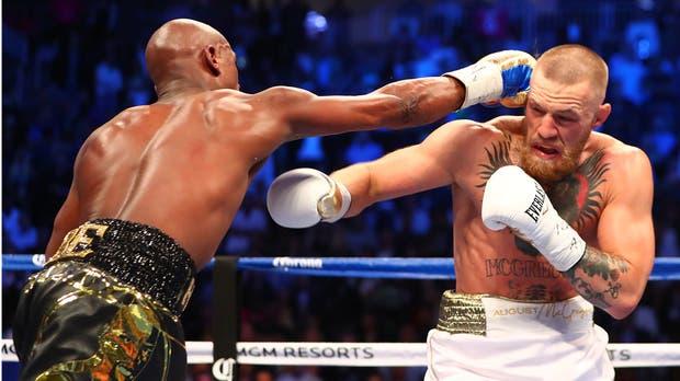 Derrota Mayweather a McGregor