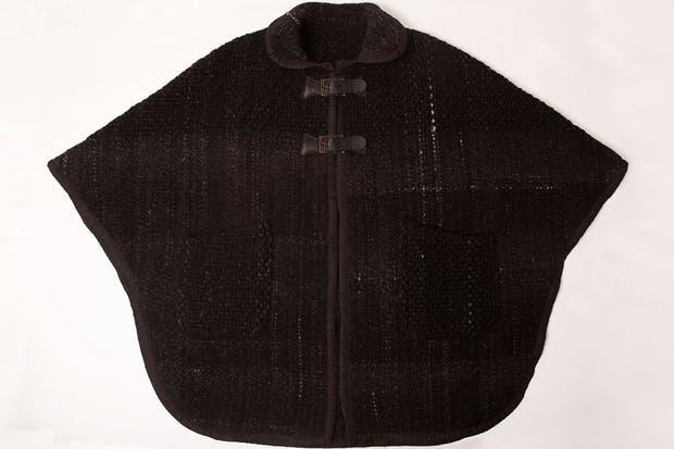 En color negro, para los días de más frío (Ceferina, $5600).