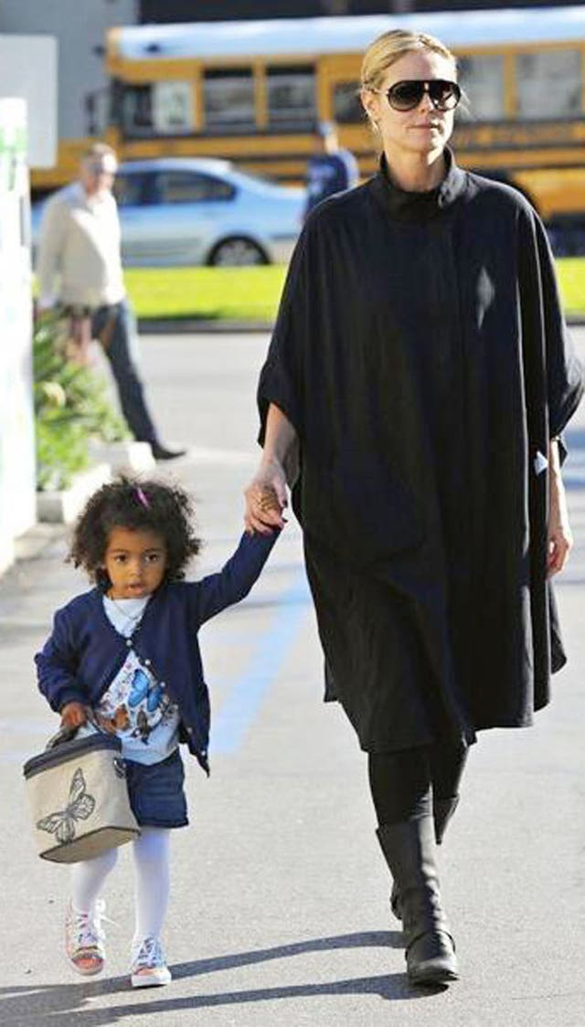 Heidi Klum y su pequeña son clientas de la marca canadiense de loncheras
