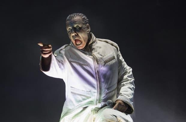Till Lindeman, líder de Rammstein