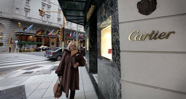 Cartier cerró su local sobre la avenida Alvear en 2012.