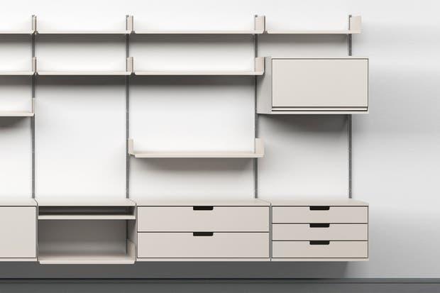 Sistema de estanterías universal 606 de Dieter Rams.