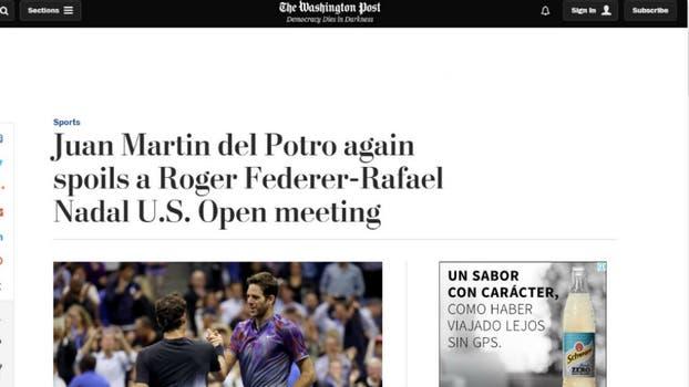 The Washington Post, de Estados Unidos. Foto: Captura