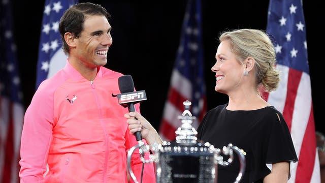 Declaraciones del campeón del US. Open