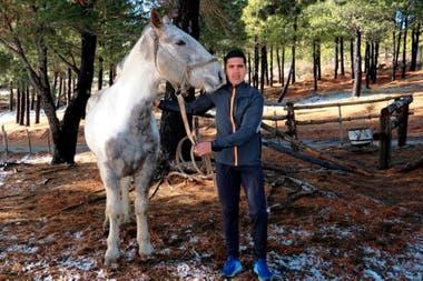 Ríos y su pasión por los caballos