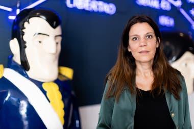 María Rosenfeldt, directora del parque interactivo