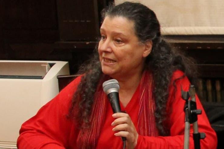 """Diana Maffía (64), doctora en Filosofía y directora del Observatorio de Género del Consejo de la Magistratura explica que este fenómeno estadístico se llama """"efecto tijera"""""""