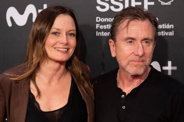 Presentes. Los actores Catherine McCormack y Tim Roth estuvieron presentes el último fin de semana en el festival de San Sebastián
