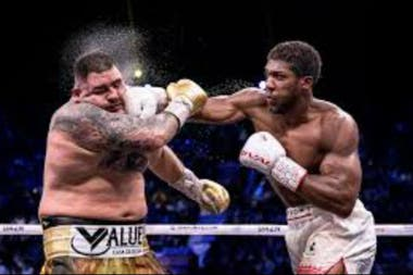 Anthony Joshua en la revancha con Andy Ruiz Jr.