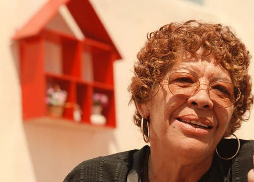 Mónica Carranza, en 1998. Foto: Archivo