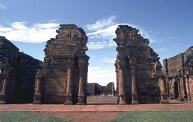 Las ruinas de San Ignacio Miní, las más visitadas a una hora de Posadas.