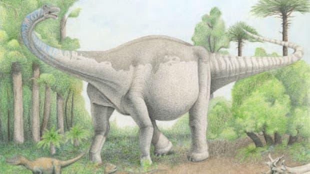Notocolossus, el colosal dinosaurio descubierto en Mendoza