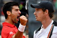 Djokovic-Murray, una gran definición en el Masters 1000 de Roma