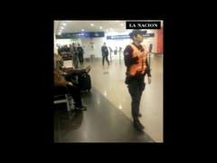 La llegada de un jefe narco extraditado desde España