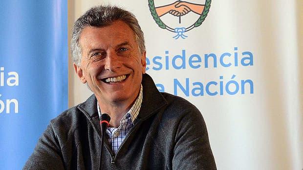 El Presidente, Mauricio Macri, durante el retiro en Chapadmalal