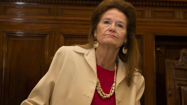 La juez de la Corte Suprema, Elena Highton de Nolasco