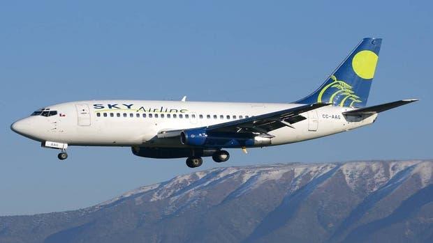 Un avión de Sky Airlines